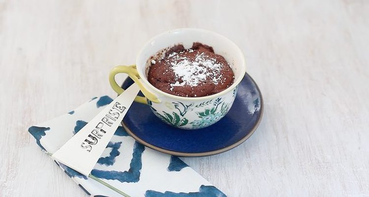 Chocolate mini-cake.
