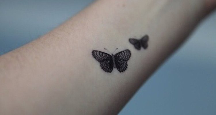 Estas dos mariposas pueden representar la felicidad de una pareja.