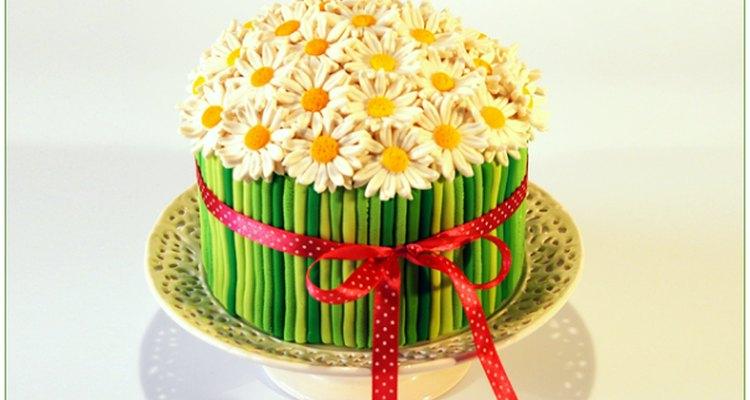Este pastel es sumamente delicado y femenino.