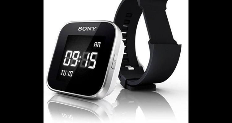 Imagen del reloj de muñeca inteligente de la empresa Sony