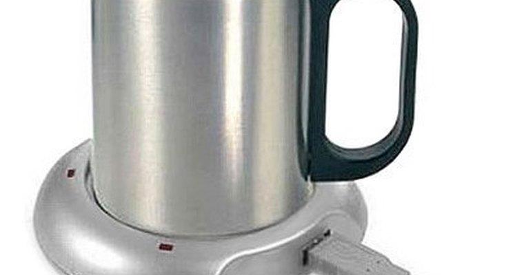 El calentador de tazas USB es ideal para los padres que trabajan mucho en la computadora.
