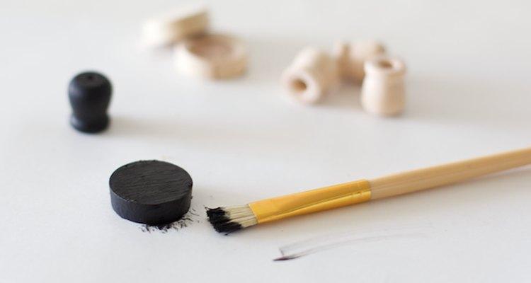 Pinta las piezas del sombrero.