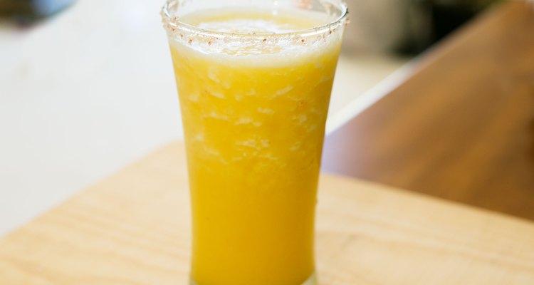 Manga e limão são a combinação perfeita para uma margarita