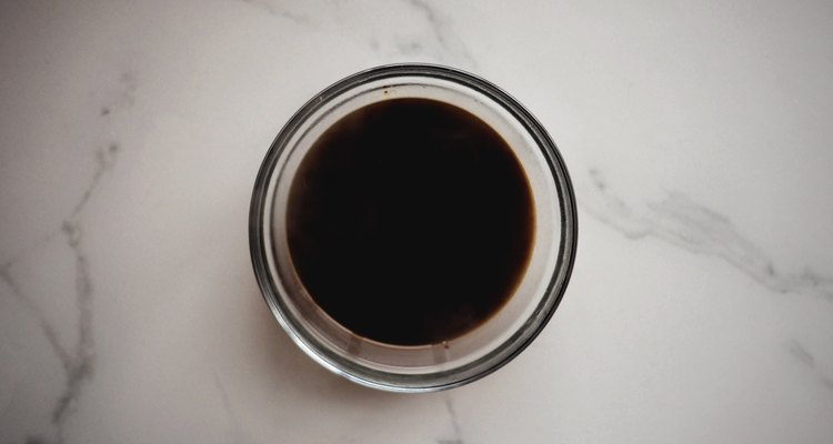 Dissolve the espresso into the boiling water then set it aside to cool