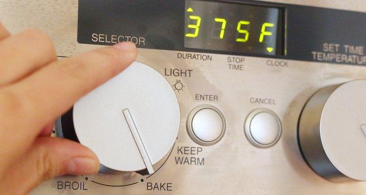 Preaqueça o forno para cozinhar