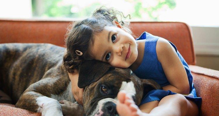 Los perros apropiados para las familias son obedientes, sociables y amorosos.,