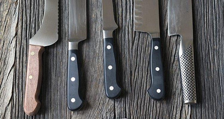 Una chaira será un implemento magnífico para cuidar tus cuchillos.