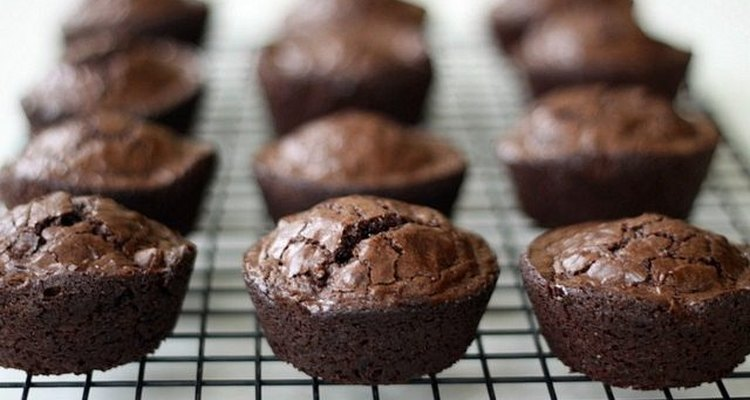 brownies in a cupcake pan