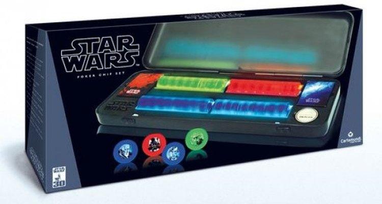 Este set de póker es ideal para los padres fanáticos de la Guerra de las Galaxias.