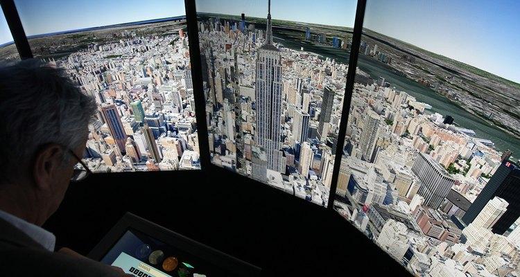 Tanto o Google Earth quanto o Google Maps fornecem novas maneiras de se olhar o mundo