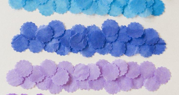 Crinkle cut confetti.