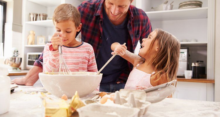 Learning to cook can help to build your child's developmental skills.