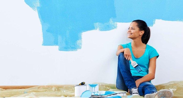 Puedes pintar tu casa por ti mismo.