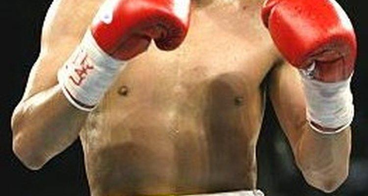 Erik Morales durante una pelea