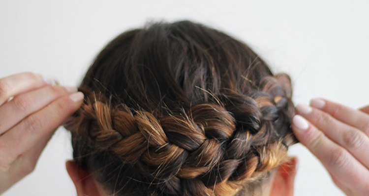 Crossing braids from one side to another