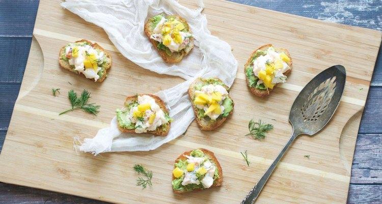 La langosta es un ingrediente delicioso para incorporar en tus tostadas.