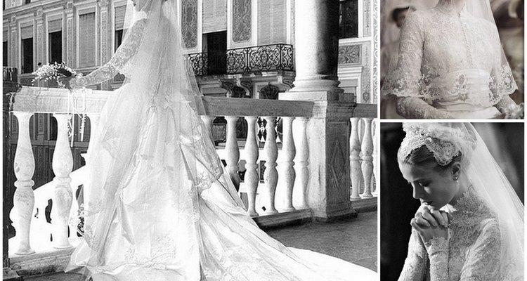El vestido de Grace Kelly es uno de los más elegantes de todos los tiempos.
