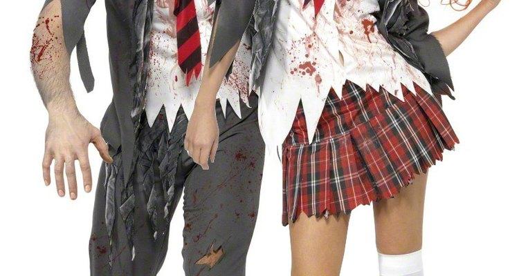 Ser zombie te permite actuar y comportarte de maneras divertidas.