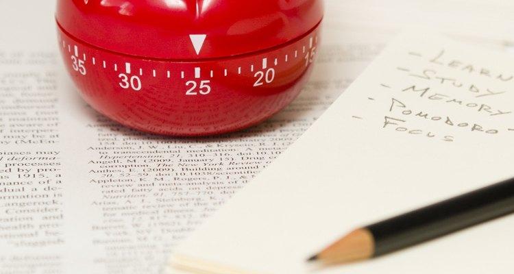 Manter-se focado durante um determinado período fará sua lista de tarefas diminuir