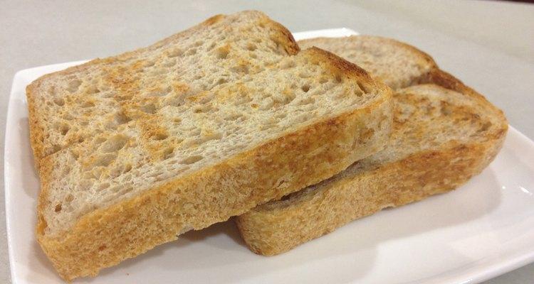 Las tostadas son la base de un plato rápido y simple.