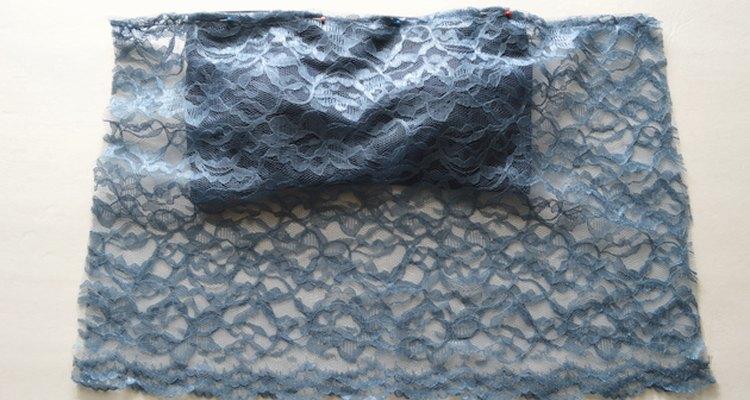 El espacio adicional del lado derecho será usado para crear fruncidos.