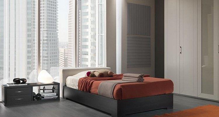 Modernize o quarto com temas lineares e simples