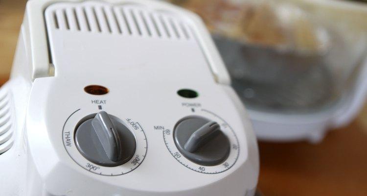 Ajusta el tiempo y la temperatura de cocción para un horno de convección.