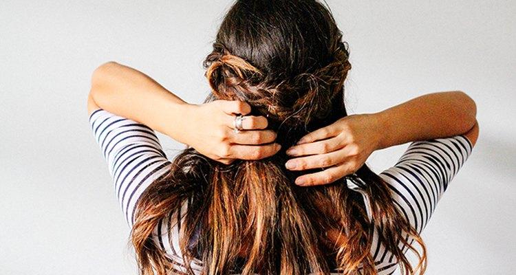 Half crown braided tutorial