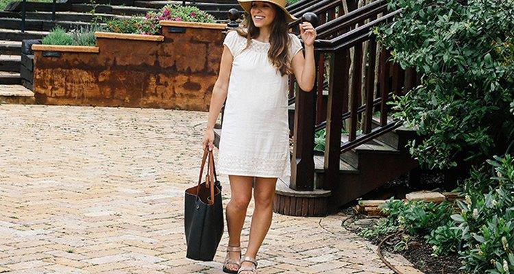 Los vestidos sueltos son agradables para utilizar mientras viajas.