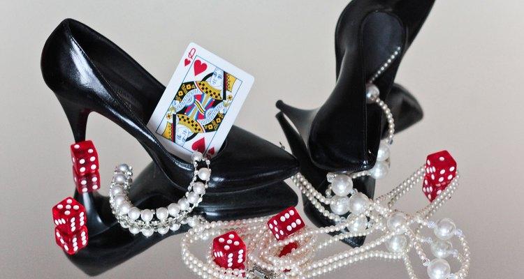 Os jogos de azar andam de mãos dadas com uma festa estilo Vegas