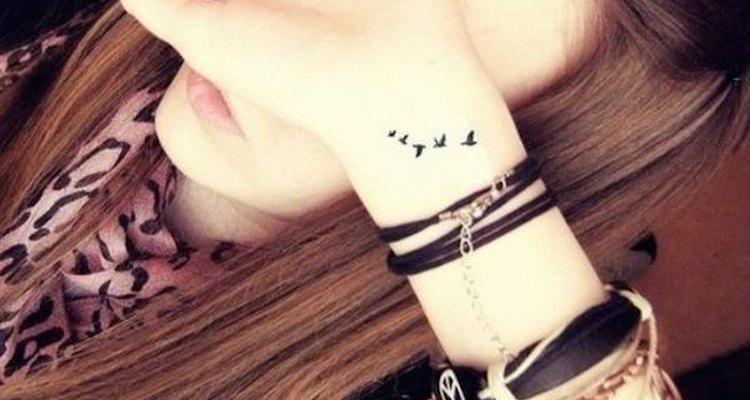 Este tatuaje es sumamente delicado.