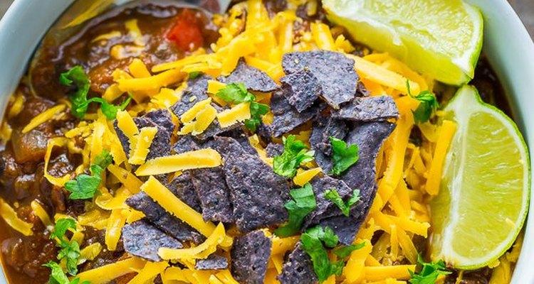 Cosas que necesitarás para el chile de calabaza y frijoles negros.
