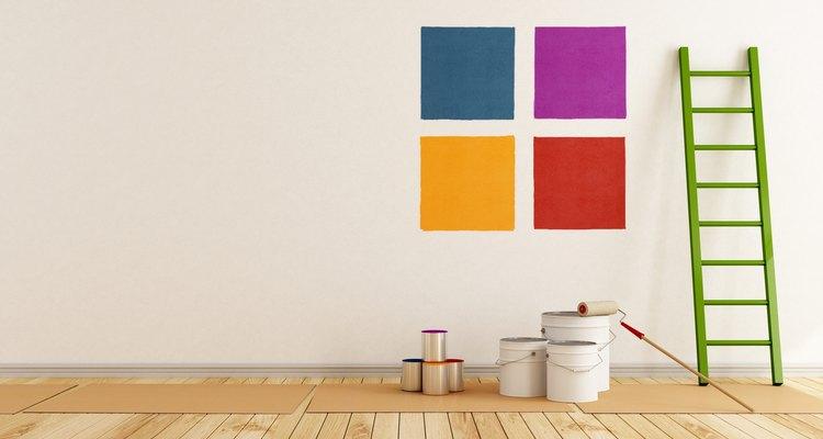 Pintar sólo una capa puede dejar que la pintura en la pared quede despareja.