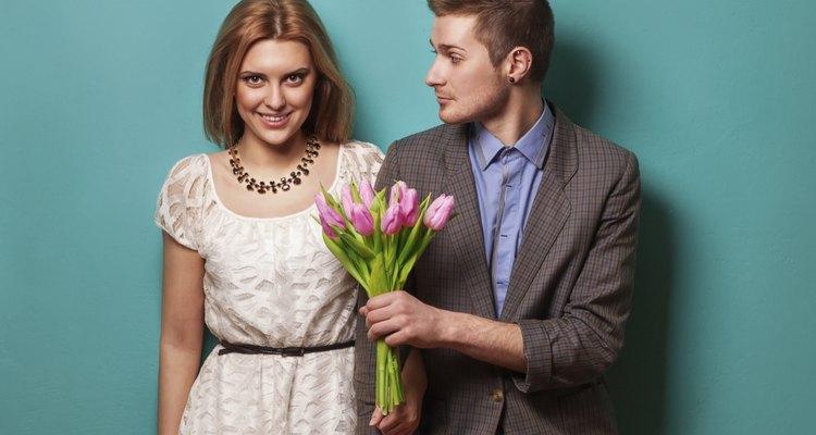 As flores têm sido usadas por séculos para expressar novos começos