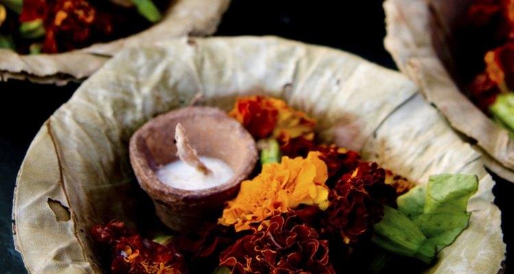 Las calaveras de azúcar forman parte de los festejos del Día de los Muertos en México.