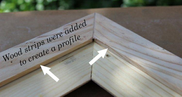 Al crear un perfil en el marco podrás quitar la pizarra.