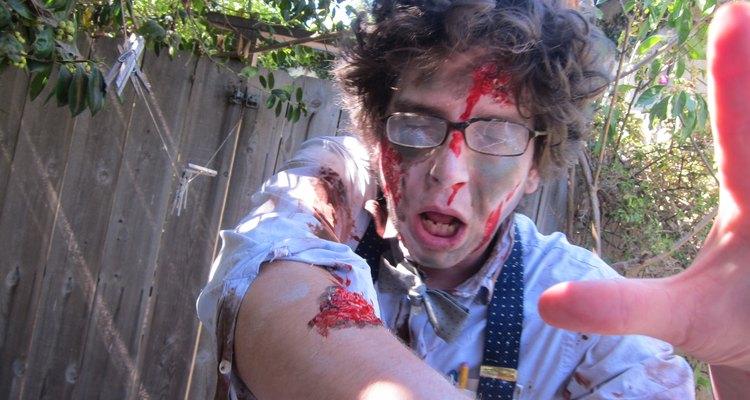 Un zombie nerd.