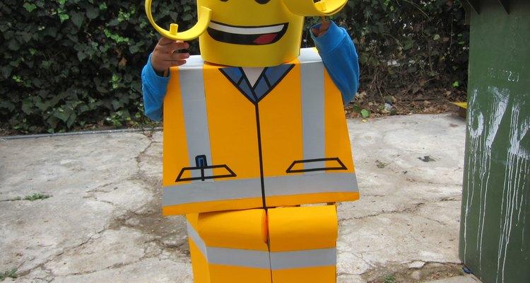 Un Lego gigante pero pequeño a la vez.