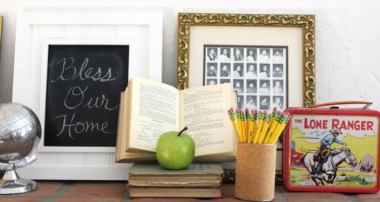 Añade recuerdos antiguos de la escuela.