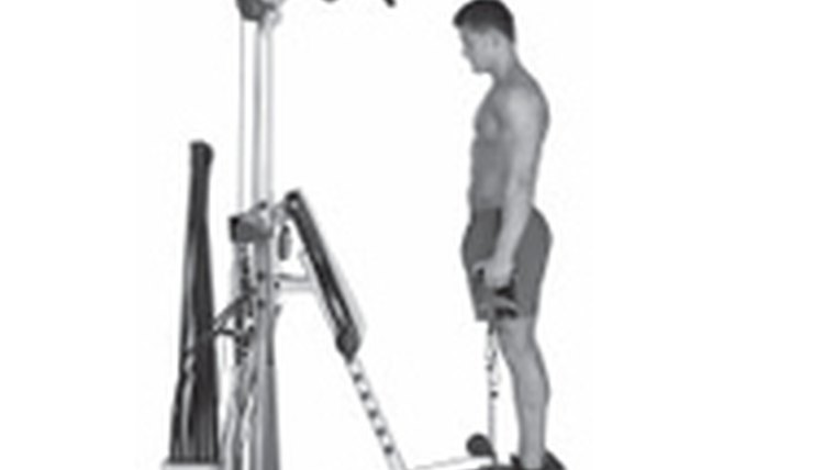 How to Do Leg Exercises on Bowflex Extreme 2 SE