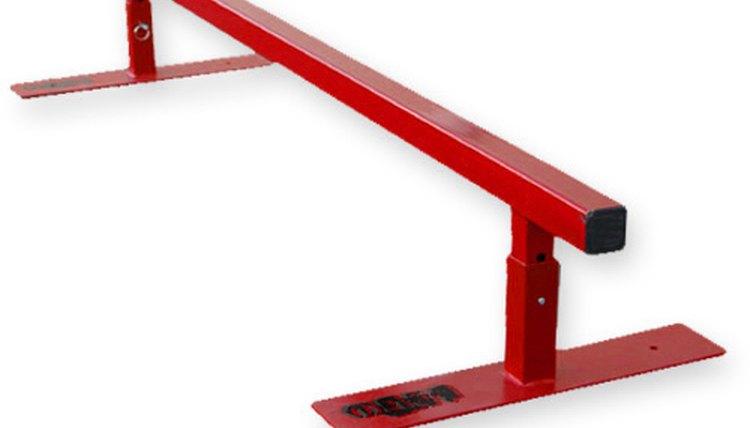 How to Make a Flatbar Grind Rail for Skateboarding