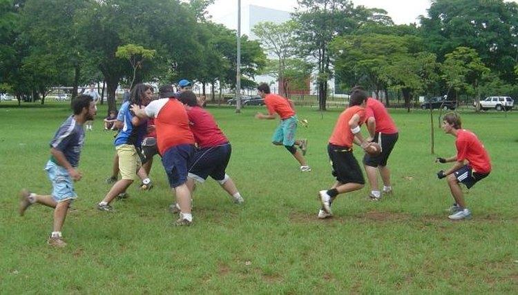 How to Run Block in Flag Football