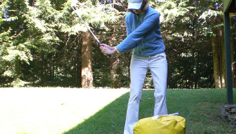 Flipping hands through a golf swing can cause a player to lose power, distance and consistency.