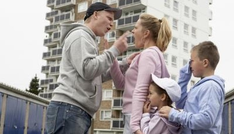 Children are often witnesses to abuse between parents.