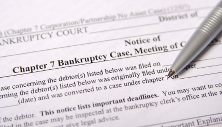 Credit, Chapter 7 Bankruptcy