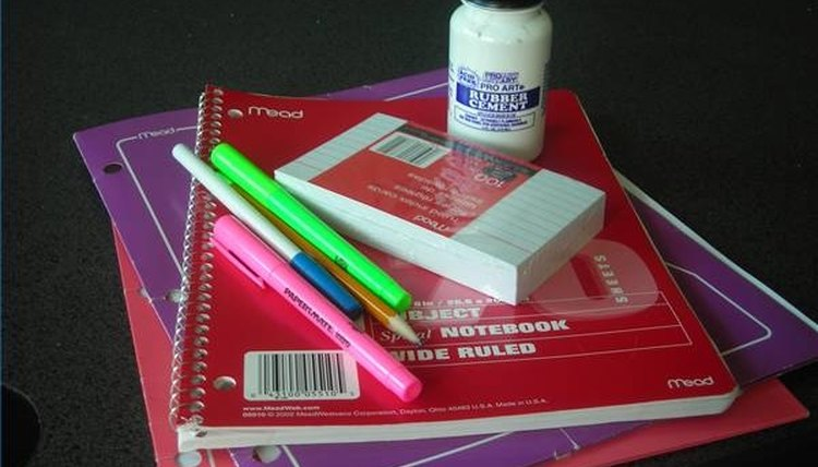 Basic school supplies are desperately needed in many classrooms.