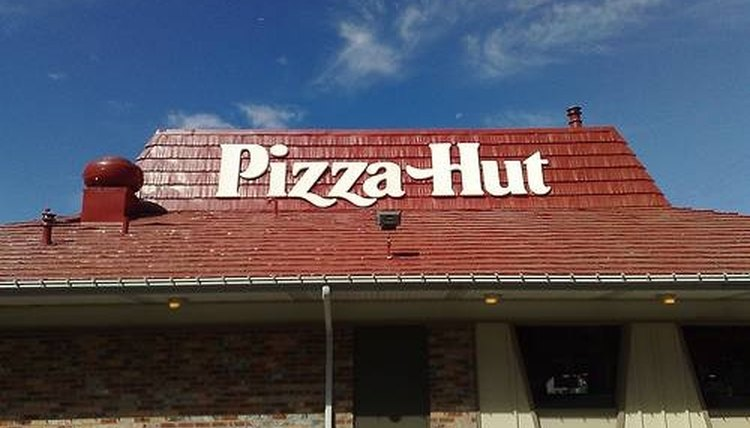 Pizza Hut, an excellent example, a restaurant name, a registered trademark