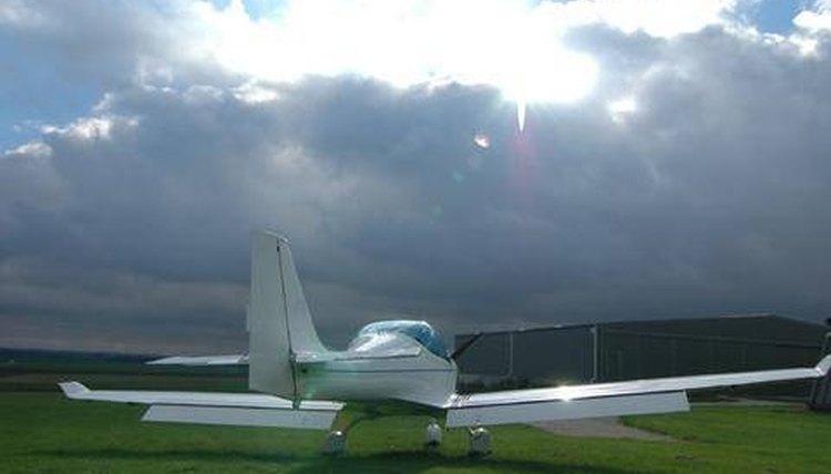 Polaris Plane Waiting for Sunshine