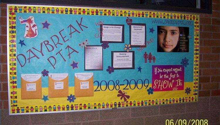 PTA Bulletin Board Ideas