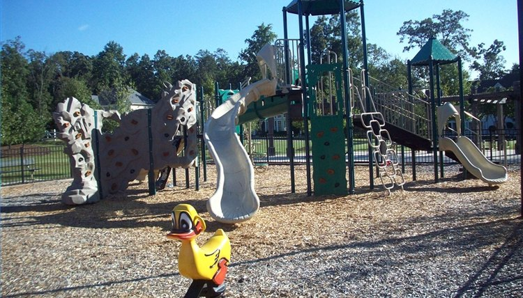 Playground in Atlanta, Georgia